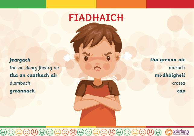 Emotion Poster - Fiadhaich